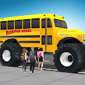 Super High School Bus Driving Simulator 3D - 2020 icon