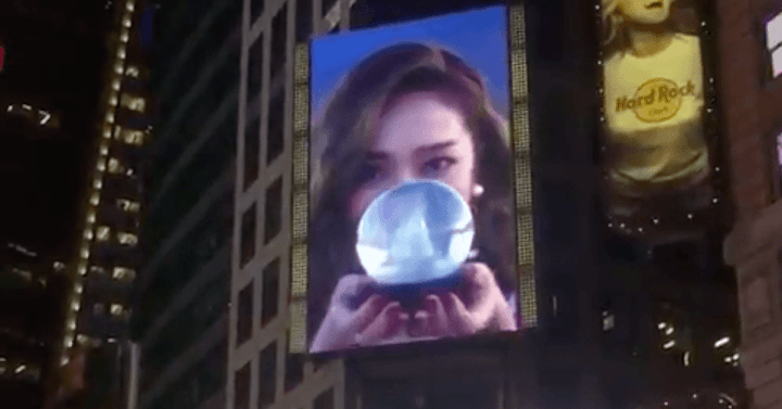 Jessicas Fans Bought Her This Incredible Birthday Gift In Times Square New York