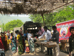 Photo: Medical camp at Korraprolu Village on 28th Oct 2012