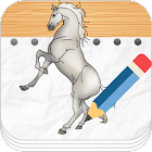 Learn To Draw Horses icon
