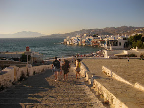Photo: Here's the walk down into Hora (sometimes spelled Chora), about 20 minutes from your lodge