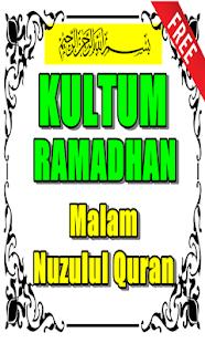 Kultum Malam Nuzulul Quran Lailatul Qadar for PC-Windows 7,8,10 and Mac apk screenshot 1