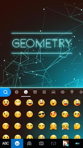 Keyboard - Geometry New Theme 2.0 screenshots 2