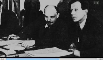 Lenin im Gespräch.