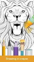 Coloring pages:Animals Mandala - screenshot thumbnail 02