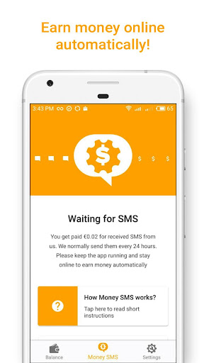 Money SMS | Make Money Online 1.0.3-demo screenshots 2