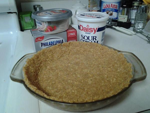 Strawberry Cheesecake Pie Recipe