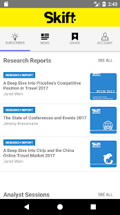 Skift - Travel News & Research - náhled