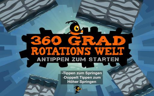 360 Grad Rotations Welt Free