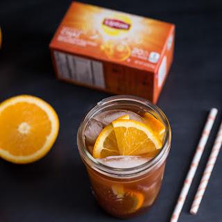 Honey Orange Iced Chai Tea.