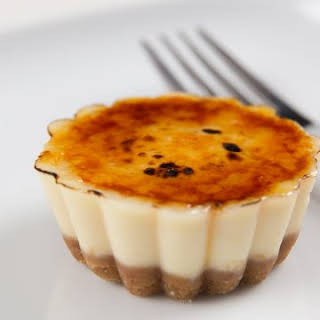 Instant Pot Cheesecake Creme Brulee Bites.