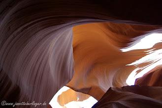 Photo: Lower Antilope Canyon zur Mittagszeit