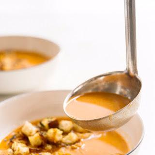 Garlic Soup (Sopa de Ajo).