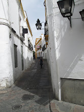 "Photo: This is a section of a large area of shops that were known as the ""Judería"" or the Jewish quarters.  It got the name from the Jewish people who used to live in the area.  It was filled with restaurants, tourist shops, and apartments."