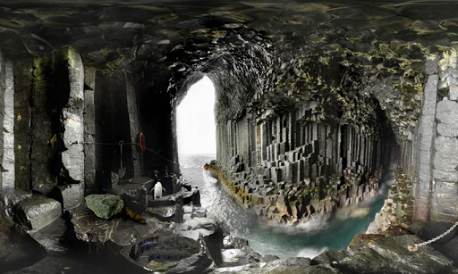 フィンガルの洞窟からの脱出