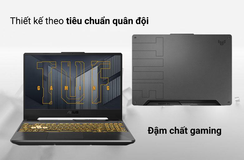 Laptop ASUS TUF Gaming FX506HC-HN002T 90NR0723-M01410 | Thiết kế đậm chất gaming