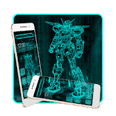 Robot Theme Hero Mecha Warrior&HD