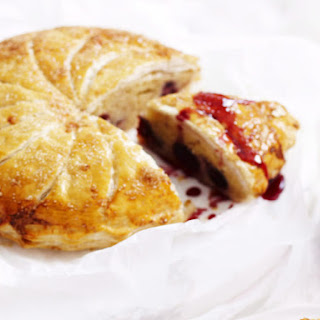 Almond and Cherry Pithivier.