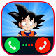 Fake Call From Goku Super Saiyan Dragon Z Warriors (app)