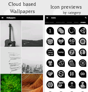 Oscuro Icon Pack Screenshot