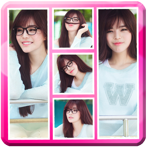 Cute Photo Grid Collage