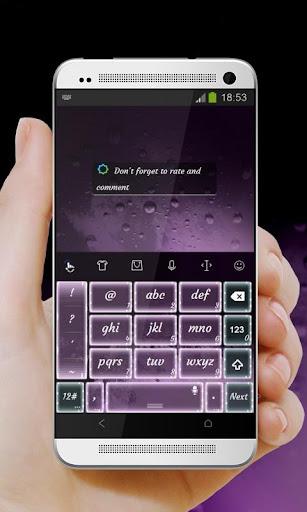 無料个人化Appの紫がかった月 TouchPal 皮膚Hifu|記事Game