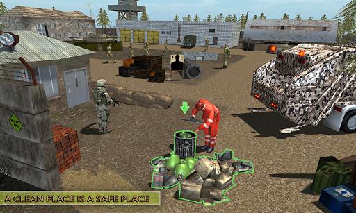 Army Garbage Truck Simulator 2018 3.0 screenshots 2