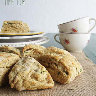 Cheese and Chive Scones.