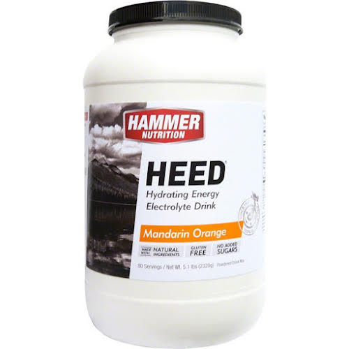 Hammer Nutrition HEED: Mandarin-Orange 80 Serving Canister