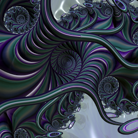 Spiral 40 by Cassy 67 - Illustration Abstract & Patterns ( digital, swirl, classic, abstract art, modern, fractal, spiral, abstract, timeless, fractals, digital art, energy )