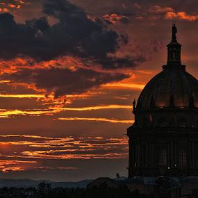 sunset, mexico by Jim Knoch - Landscapes Sunsets & Sunrises