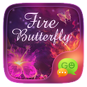GO SMS FIRE BUTTERFLY THEME icon