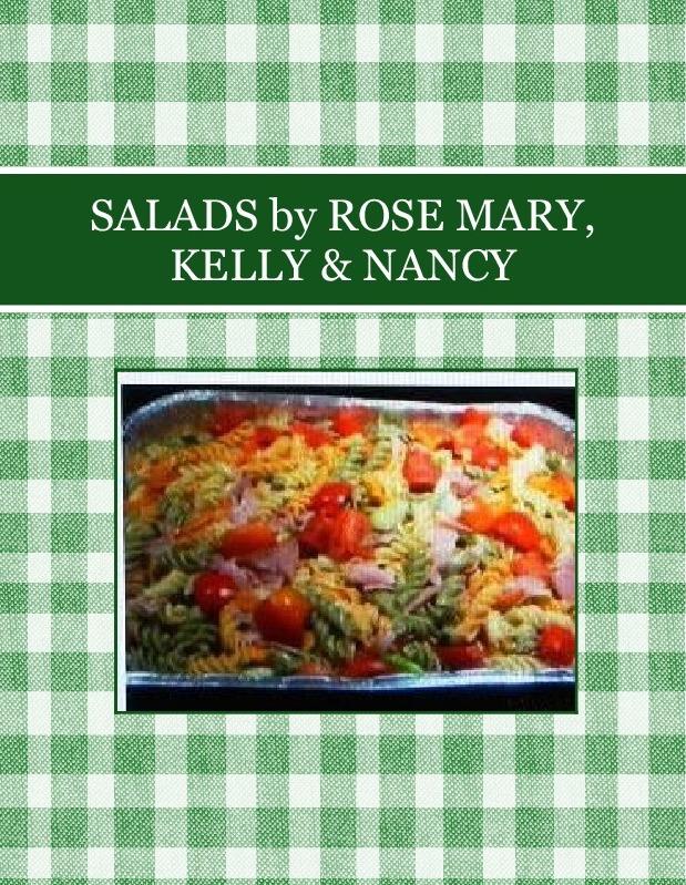 SALADS by ROSE MARY, KELLY & NANCY
