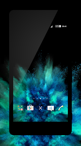 xBlack - Teal Theme
