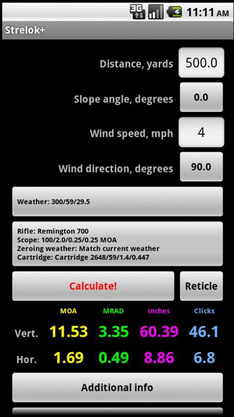 Strelok+ Screenshot 0