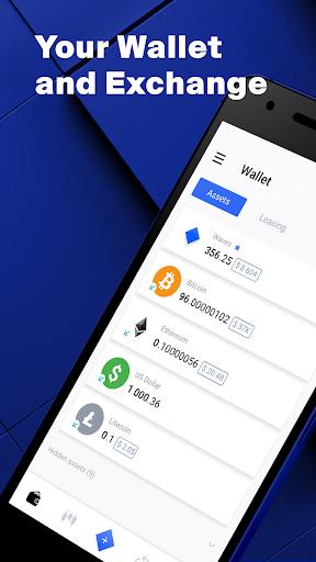Waves u2013 Bitcoin Wallet 2.1.1 app download 1