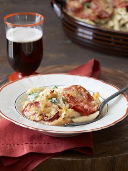 Roasted Vegetable Mac 'n' Cheese Recipe