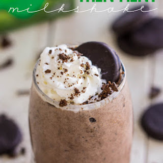Thin Mint Milkshake