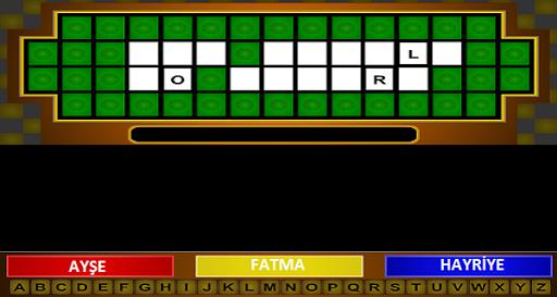 Türkçe Çarkıfelek Kelime Oyunu