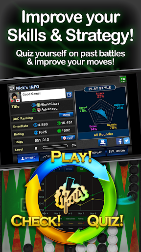 Backgammon Ace - Board Games 5.0.4 Windows u7528 2