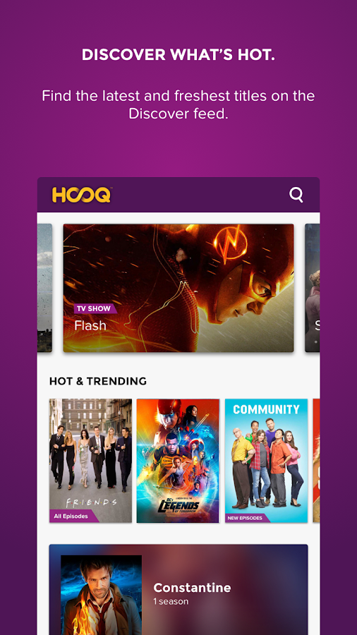 HOOQ- screenshot
