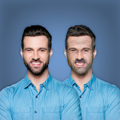 Face Change App - Old Age (Beard, Mustache) Icon