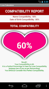 Love Calculator [Numerology] screenshot