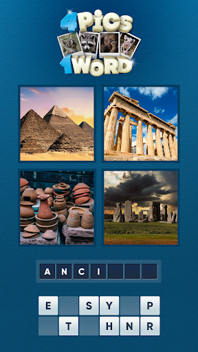 4 Pics 1 Word: Four Pictures One Word Photo Puzzle 1.00 screenshots 2