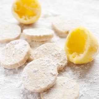 Lemon Shortbread Cookies.