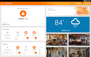 Screenshot of AT&T Digital Life