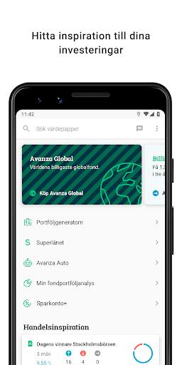 Avanza screenshot