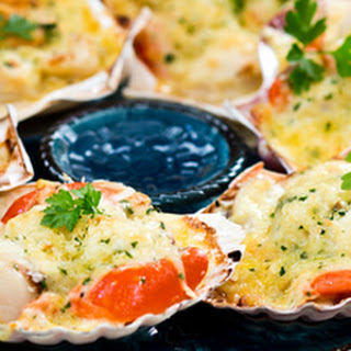 Scallop Mornay
