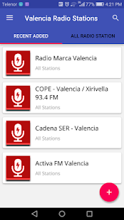 Valencia Radio Stations - náhled