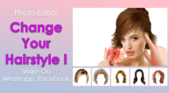 Hair Styler App For Women Android Apps On Google Play - Hair style changer app for android